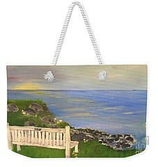 Cliff View Weekender Tote Bag