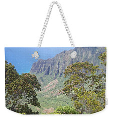 Cliffs Weekender Tote Bag