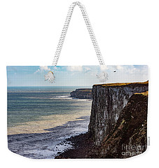 Cliffs Of Bempton Weekender Tote Bag by Anthony Baatz