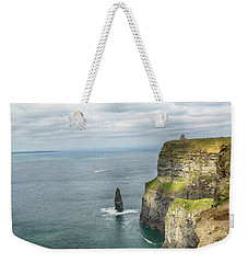 Cliffs Of Moher 3 Weekender Tote Bag by Marie Leslie