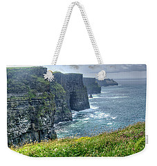 Weekender Tote Bag featuring the photograph Cliffs Of Moher by Alan Toepfer