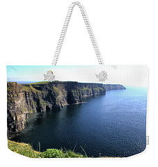 Cliffs Of Moher Weekender Tote Bag by Catherine Alfidi