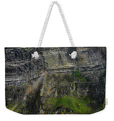 Weekender Tote Bag featuring the photograph Cliffs Of Moher From The Sea Close Up by RicardMN Photography