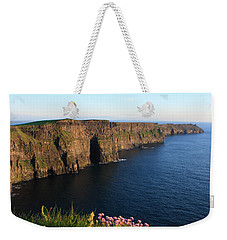 Cliffs Of Moher In Evening Light Weekender Tote Bag