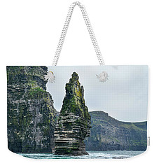 Cliffs Of Moher Sea Stack Weekender Tote Bag