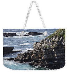 Cliffs Overlooking Donegal Bay Weekender Tote Bag