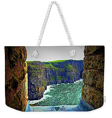 Cliffs Personalized Weekender Tote Bag