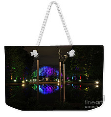 Weekender Tote Bag featuring the photograph Climatron 2017 by Andrea Silies