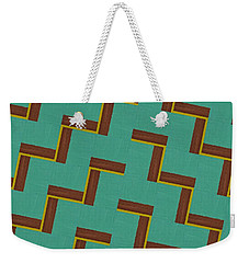 Climbing Weekender Tote Bag by Michelle Calkins