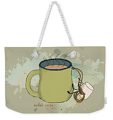 Weekender Tote Bag featuring the photograph Climbing Mt Cocoa Illustrated by Heather Applegate