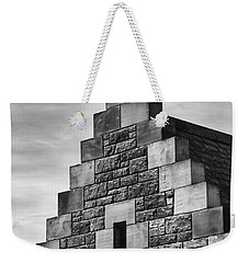 Weekender Tote Bag featuring the photograph Climbing The Castle by Christi Kraft