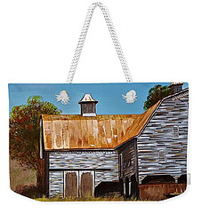 Cline Barn Weekender Tote Bag by Jim Harris