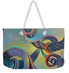 Clinging Weekender Tote Bag