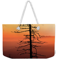 Weekender Tote Bag featuring the photograph Clingman's Dome Sunrise by Douglas Stucky
