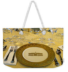 Clinton State Dinner 2 Weekender Tote Bag