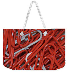 Weekender Tote Bag featuring the digital art Clip It by Kathy Kelly
