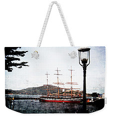 Clipper Ship Weekender Tote Bag
