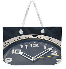 Clock Face Weekender Tote Bag
