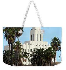 Clock Tower Building, Santa Monica Weekender Tote Bag