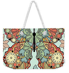 Clockwork Butterfly Weekender Tote Bag