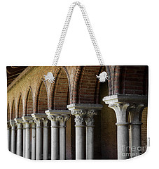 Weekender Tote Bag featuring the photograph Cloister, Couvent Des Jacobins by Elena Elisseeva