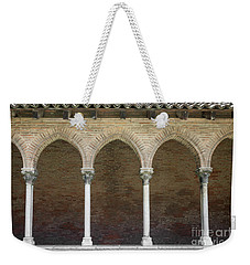 Weekender Tote Bag featuring the photograph Cloister In Couvent Des Jacobins by Elena Elisseeva