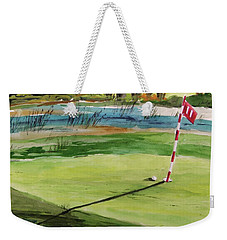 Close At The Eleventh Hole Weekender Tote Bag