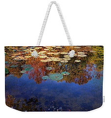 Close By The Lily Pond  Weekender Tote Bag