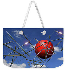 Weekender Tote Bag featuring the photograph Close Encounters by Christopher McKenzie