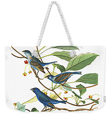 Weekender Tote Bag featuring the photograph Close Friends by Munir Alawi