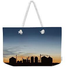 Close Of Day Weekender Tote Bag