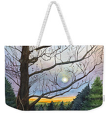Close To Dusk Weekender Tote Bag