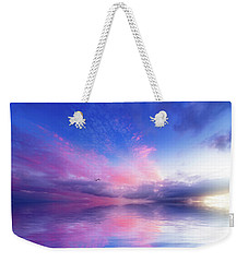 Close To Infinity Weekender Tote Bag