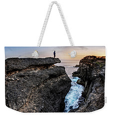 Weekender Tote Bag featuring the photograph Close To Nature by Pradeep Raja Prints