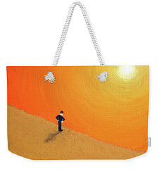 Close To The Edge Weekender Tote Bag by Thomas Blood
