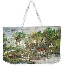 Close To The Retreat Weekender Tote Bag