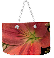 Close Up And Personal Weekender Tote Bag by Nance Larson