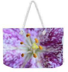 Close Up Flower Weekender Tote Bag