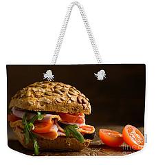 Close Up Ham Salad Roll Weekender Tote Bag
