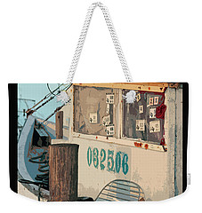 Weekender Tote Bag featuring the photograph Closed For Christmas by Joe Jake Pratt