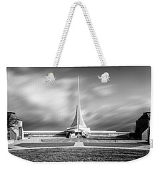 Weekender Tote Bag featuring the photograph Closed Sails by Steven Santamour
