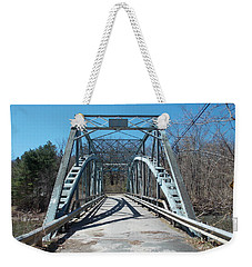 Road Closed To Traffic Weekender Tote Bag by Catherine Gagne