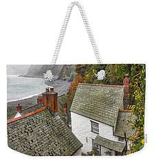 Clovelly Coastline Weekender Tote Bag