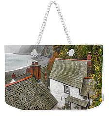 Clovelly Coastline Weekender Tote Bag by RKAB Works