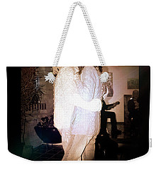 Weekender Tote Bag featuring the photograph Closeness by Al Bourassa