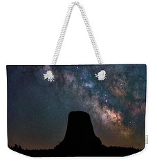 Weekender Tote Bag featuring the photograph Closer Encounters by Darren White