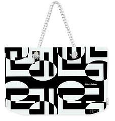 Weekender Tote Bag featuring the digital art Closer Look by Rafael Salazar