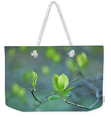 Closer To Spring Weekender Tote Bag