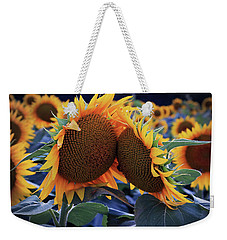 Weekender Tote Bag featuring the photograph Closest Of Friends by Christopher McKenzie