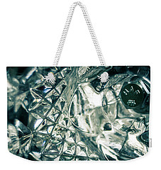 Closeup Of Crystal Garden Decoration Weekender Tote Bag